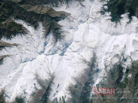 Dünyanın uzaydan çekilen görüntüleri!