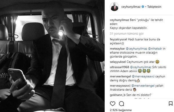 Ünlü isimlerin Instagram paylaşımları (31.01.2018)
