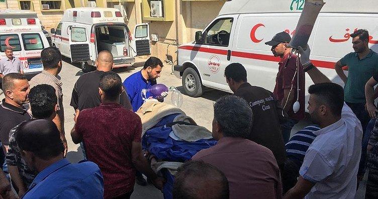 Irak'ta hacı adaylarını taşıyan otobüs kaza yaptı: 1 ölü 35 yaralı