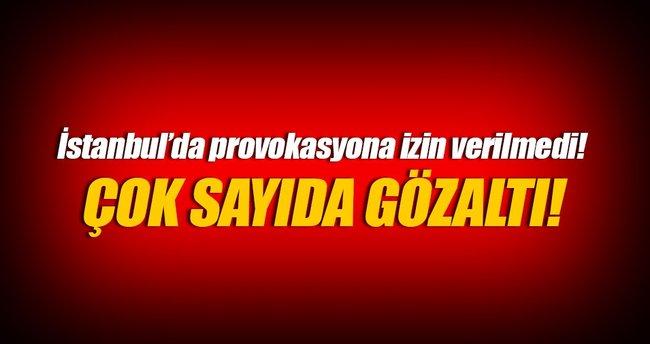 İstanbul'da HDP gösterilerinde 65 gözaltı