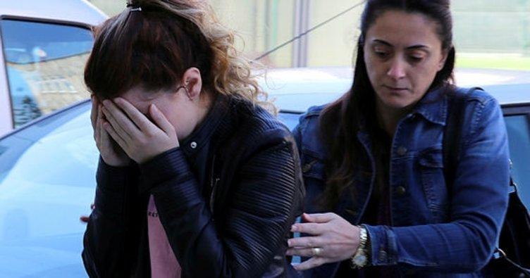 Samsun'da polisi gören şüpheli uyuşturucuyu kız arkadaşının çantasına attı