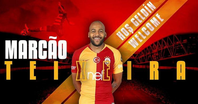 Son dakika: Galatasaray'ın yeni transferi Marcao geliyor
