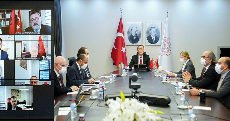 Milli Eğitim Bakanı Selçuk, Arnavut mevkidaşı Kushi ile görüştü