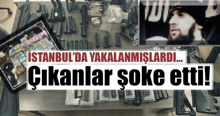 Son dakika: İstanbul'da 2 DEAŞ'lı terörist silah ve servetleriyle birlikte yakalandı