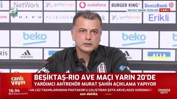 Beşiktaş'ta Rio Ave maçında 3 eksik! Murat Şahin açıkladı