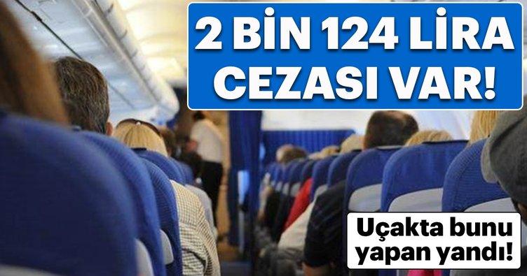 Bunu yapan yandı! Artık 2 bin 124 lira cezası var...