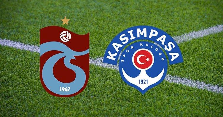 Trabzonspor Kasımpaşa maçı hangi kanalda? Süper Lig Trabzonspor Kasımpaşa ne zaman ve saat kaçta?