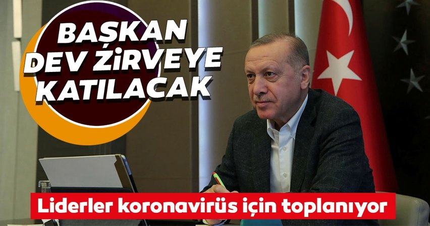 Son dakika! Başkan Erdoğan video konferans yöntemiyle G20 zirvesine katılacak