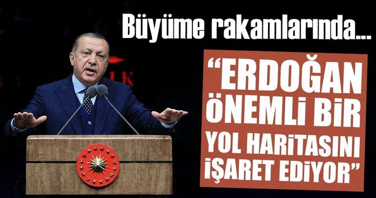 Erdoğan, büyüme hikâyesinin devamına yönelik kritik önemde bir yol haritasına işaret ediyor