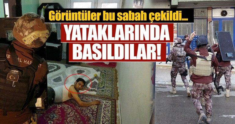Erzurum'da insan kaçakçılarına şafak operasyonu! Çok sayıda gözaltı...