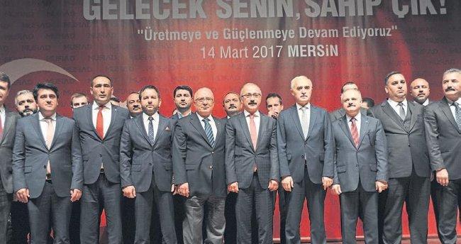 Kalkınmış Türkiye için istikrar şart