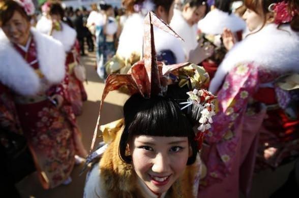 Japon kızların 20 yaş çılgınlığı