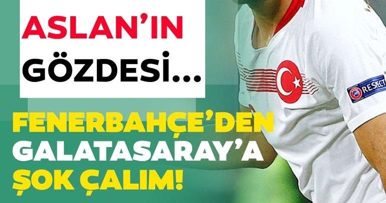 Son dakika haberi: Fenerbahçe'den Galatasaray'a şok transfer çalımı! Aslan'ın gözdesi...