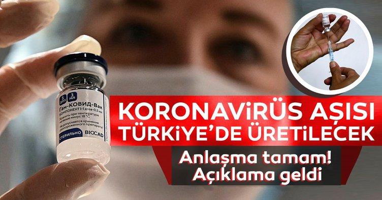 Son dakika haberler: SPUTNİK V koronavirüs aşısı için anlaşma tamam! Türkiye'de üretilecek...