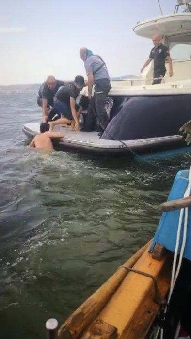 Körfezde can pazarı! Deniz polisi 6 hayat kurtardı