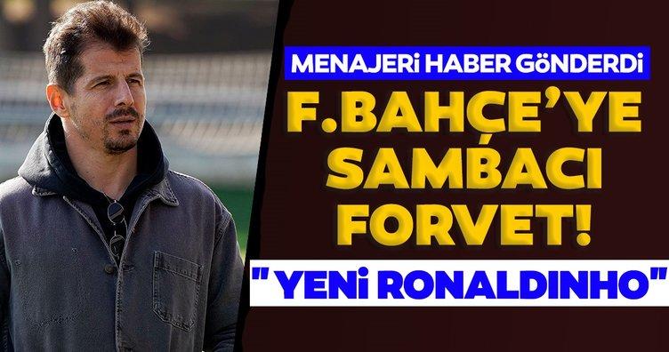 Son dakika: Fenerbahçe'ye Sambacı forvet! Yeni Ronaldinho...