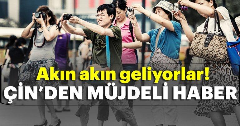 Türk turizmine Çin'den müjdeli haber! Türkiyeye akın başlıyor