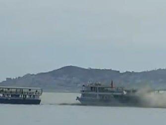 Adalar - Bostancı teknesinde yangın çıktı
