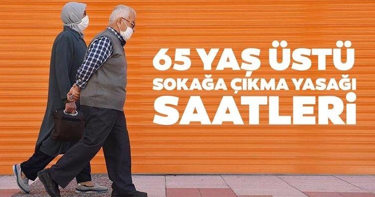 Son dakika: 65 yaş üstü yaşlıların dışarı çıkma izni ne zaman? 65 yaş üstü sokağa çıkma yasağı saatleri