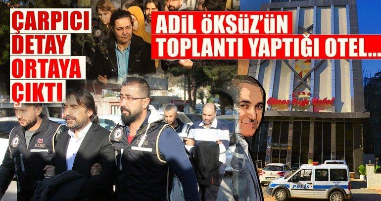 Adil Öksüz'ün toplantı yaptığı otelin 'Bylock'ta da çıktığı iddiası