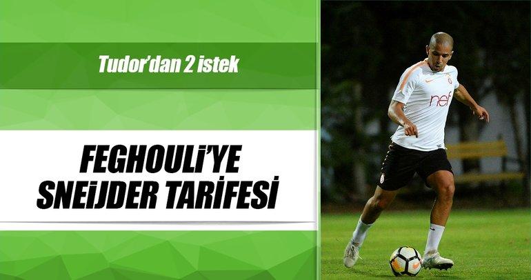 Feghouli'ye Sneijder tarifesi