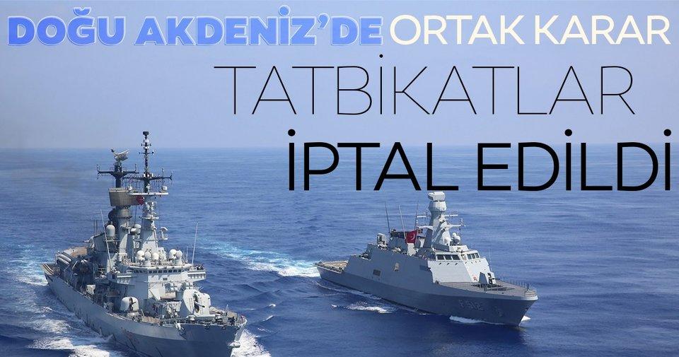 Son dakika: NATO: Türkiye ve Yunanistan gelecek hafta yapılacak tatbikatları iptal etti