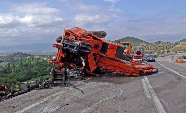 Sinop'ta katliam gibi kaza