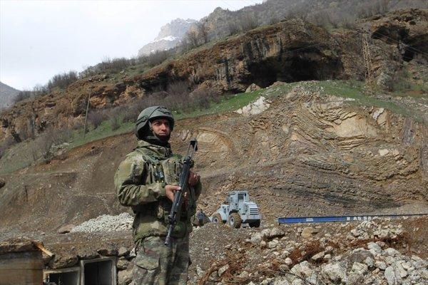 'PKK inlerine' bahar operasyonu