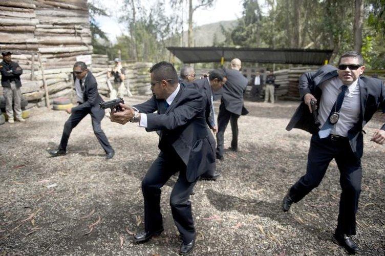 Kolombiya'nın özel koruma birliği