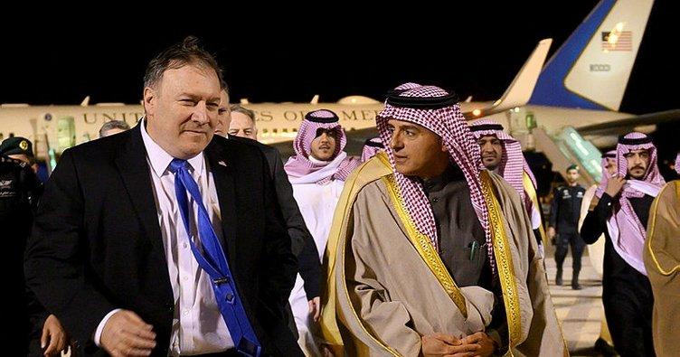 Pompeo'nun Suudi Arabistan ziyaretinin gündemi Kaşıkçı