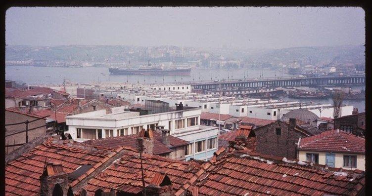 Renklendirilmiş halleriyle eski İstanbul...