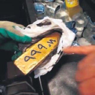 Otobüsün buzdolabından 64 kilogram altın çıktı