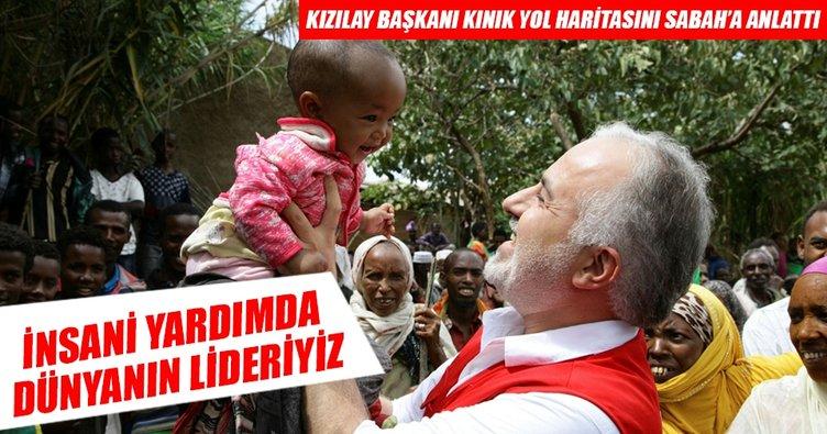 Türkiye vicdani ve insani alanda yükselen değer