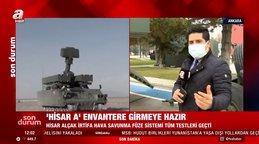 SON DAKİKA! Milli hava savunmafüze sistemi HİSAR-A TSK'da göreve başlıyor   Video