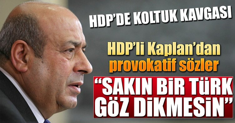 HDP'li Hasip Kaplan'dan skandal tweet!