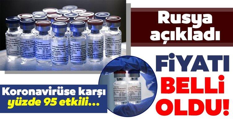 SON DAKİKA HABERİ: Dünyayı heyecanlandıran gelişme! Rusya'da üretilen corona virüs aşısının fiyatı açıklandı