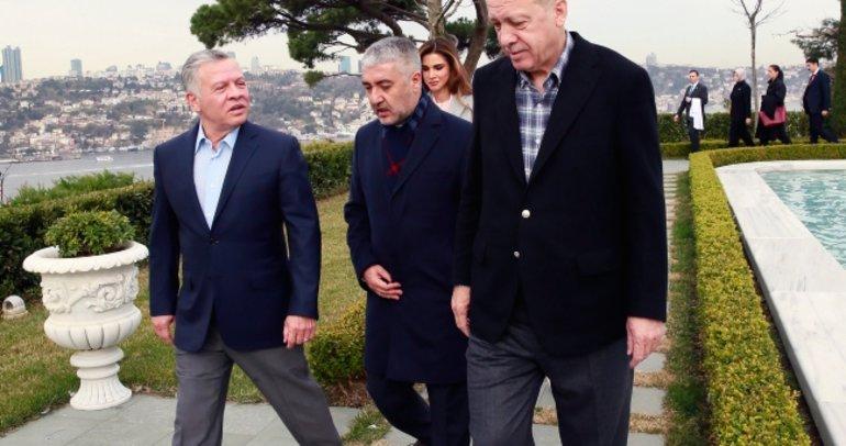 Başkan Erdoğan, Ürdün Kralı 2. Abdullah ile kahvaltıda buluştu