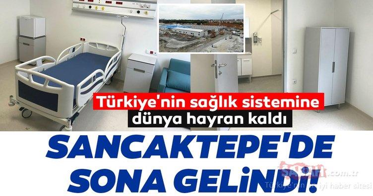 Türkiye'nin sağlık sistemine dünya hayran kaldı! Sancaktepe'de sona gelindi