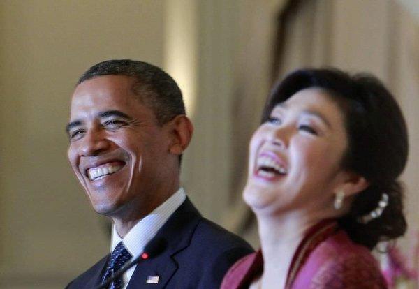 Obama Tayland'da