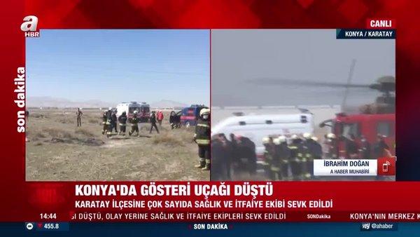 Son dakika haberleri: Konya'da askeri gösteri uçağı NF-5'in düştüğü bölgedeki çalışmalardan ilk görüntüler | CANLI YAYIN |