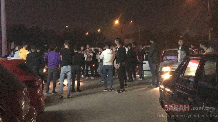 Bursa'dan son dakika haberi! Asker uğurlama konvoyunda koronavirüse meydan okudular