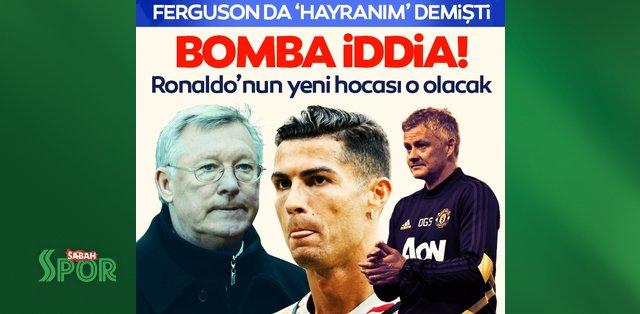 Son dakika: Manchester United için bomba iddia! Ronaldo'nun yeni hocası o olacak - Son Dakika Spor Haberleri