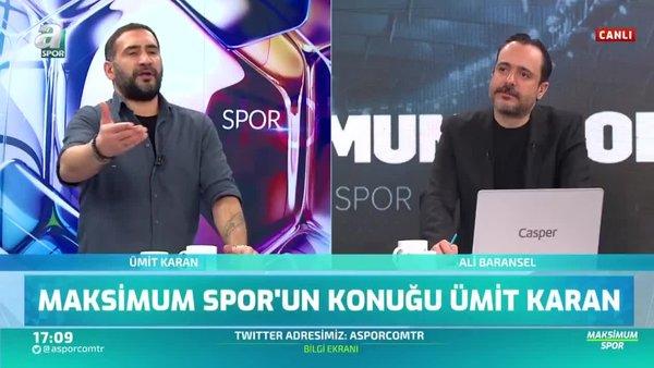 Ümit Karan: Fenerbahçe'ye en iyi oynadığımız maçta 6-0 yenildik