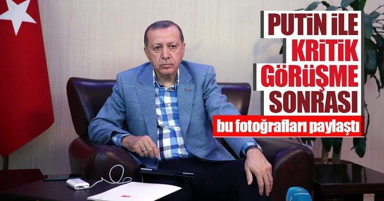 Flaş görüşme! Putin ve Erdoğan Akkuyu'yu konuştu