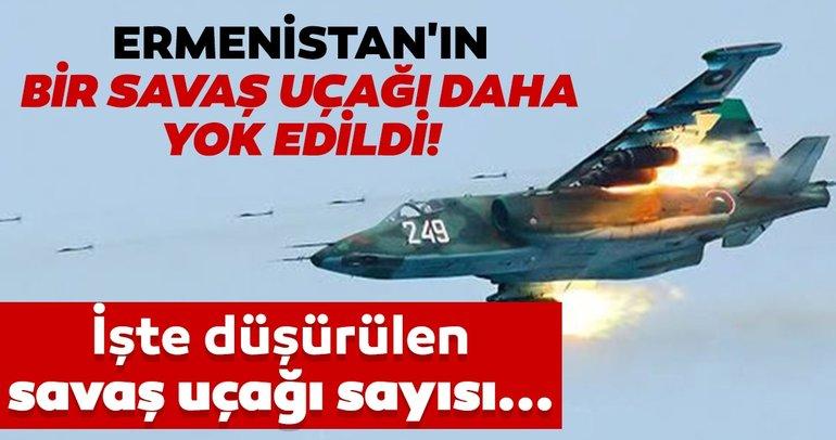 Son dakika: Azerbaycan başka bir Ermeni savaş uçağını düşürdü