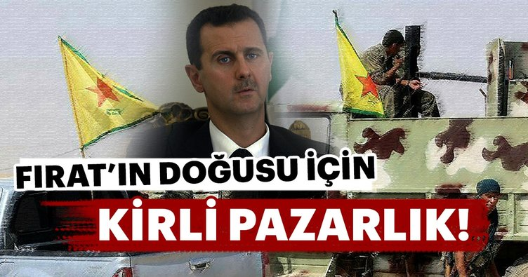 Fırat'ın doğusu için rejim ile YPG/PYD arasındaki gizli pazarlık