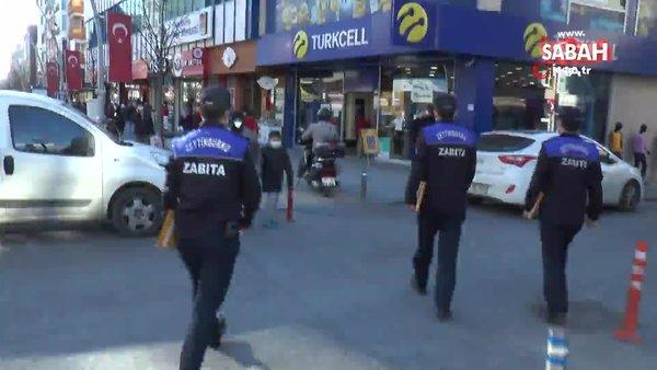 İstanbul Zeytinburnu'nda zabıta ekibini şaşırtan indirim izdihamı kamerada   Video