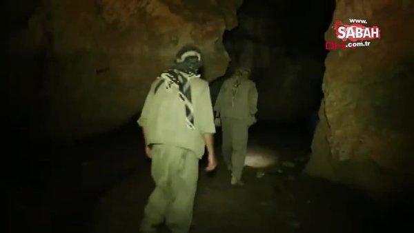 Tunceli'de mağarada sıkıştırılan teröristlerin, görüntüleri ortaya çıktı!