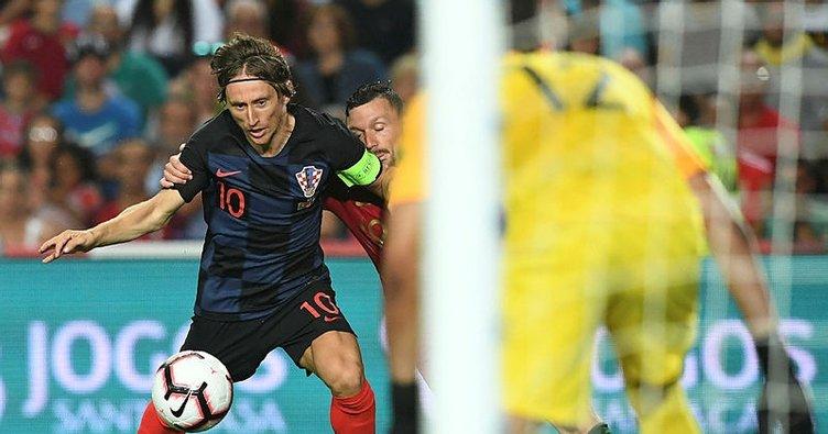Pepe'li Portekiz, Vida'lı Hırvatistan ile yenişemedi