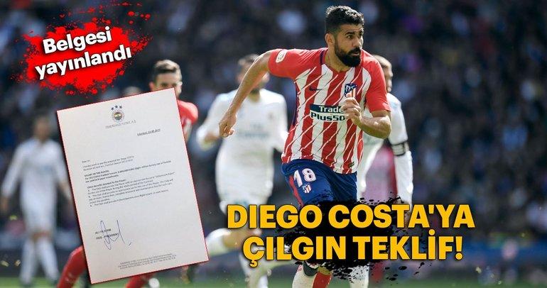 Fenerbahçe'den Diego Costa'ya çılgın teklif!